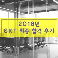 2018 SKT 최종합격 후기