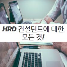 HRD 컨설턴트에 대한 모든 것!